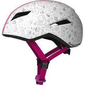 ABUS Yadd-I Kid Helmet Kinder white crush